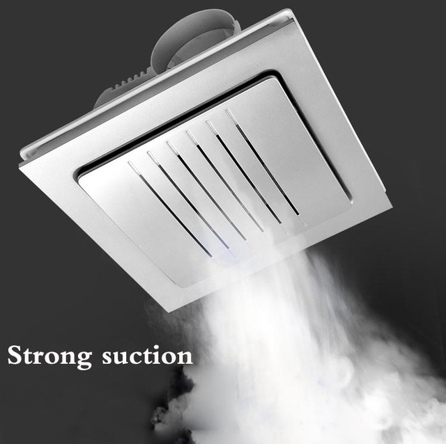 Integrated Ceiling Ventilation Fan Strong Bathroom Kitchen Hotel