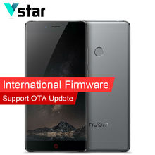 "International Firmware D'origine Nubia Z11 5.5 ""D'empreintes Digitales Snapdragon 820 Quad Core Mobile Téléphone 4G RAM 64G ROM 16.0MP sans frontières"