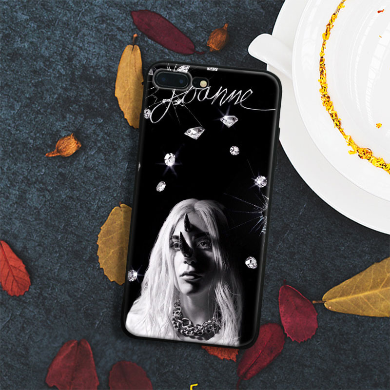 Lady joanne gaga Tpu Soft Silicone Phone Case Cover Shell For Apple IPhone 5 5s SE 6 6s 7 8 Plus X 10