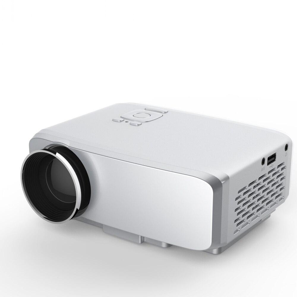 Vivibright full hd 1080 p 800 lúmenes proyector de cine en casa con el control r