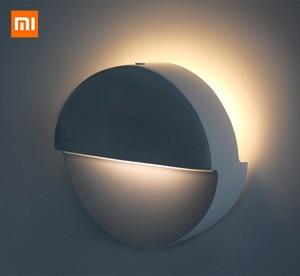 Image 5 - Xiao mi mi jia 필립스 블루투스 야간 조명 led 유도 복도 야간 램프 적외선 원격 제어 바디 센서 mi home app