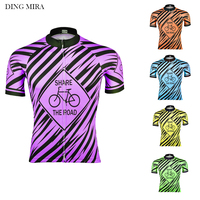 2018 new   Cycling     jersey   MTB ropa Ciclismo New Men Team short sleeve clothing Wear bike Mountain road   cycling   clothing DING MIRA