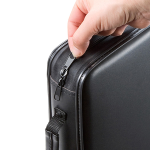 Image 4 - ymjywl CD Case Blu ray Disc Box Shockproof CD Bag 96 Discs Capacity For Car Travel Storage Equipment Box