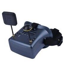 цена на High Quality LS-008D 5.8G FPV Googles 40CH With 2000mA Battery DVR Diversity For RC Model 92% Transparent Lens