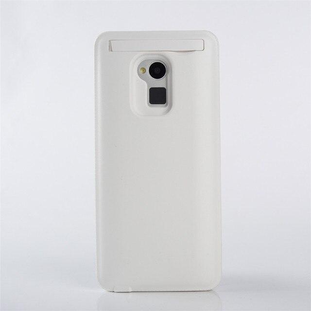 4200 мАч Аккумуляторная Зарядное Устройство Резервного Копирования Дело Капа Для HTC One Max (T6) внешний Powerbank Задняя Крышка Телефон Черный и Белый