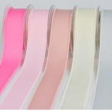 8 Colors Grosgrain Tassel Edge Ribbon 5/816 mm 1 25 MM 1-1/2 38 Handmade Wedding DIY Crafts Tape