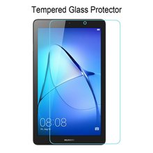 2PCS 9H 7 Screen Protector for Huawei Mediapad T3 7.0 Tempered Glass wifi BG2-W09 For inch Protective