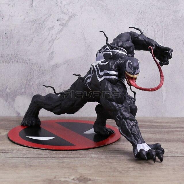 Estátua ARTFX + ESTÁTUA Do Homem Aranha Veneno 1/10 Escala PVC Figura Collectible Toy Modelo