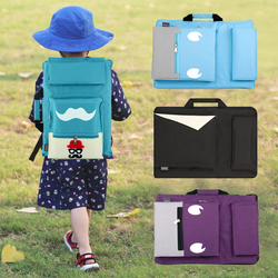 MoeTron Fashion Cute Drawing Set Art Bag A3 Sketch Pad/Drawing Kit 8K Art School Bag Painting Bags For Kids