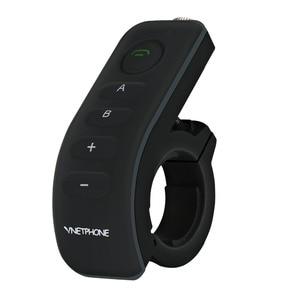 Image 4 - 2pcs Vnetphone V8 오토바이 헬멧 인터폰 NFC 원격 제어 블루투스 인터폰 헤드셋 5 라이더 1200M 전이중 이야기