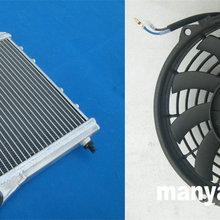 Радиатор из алюминиевого сплава+ вентилятор для Остина Ровер MINI COOPER& MORRIS 1967-1991
