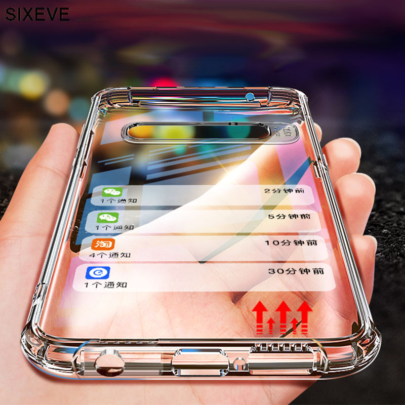 Clear Soft TPU Case For Samsung Galaxy S6 S7 Edge S4 S5 A3 A5 A7 J2 J5 J7 Prime J3 Pro Note 3 4 5 Cell Phone Full Protect Cover