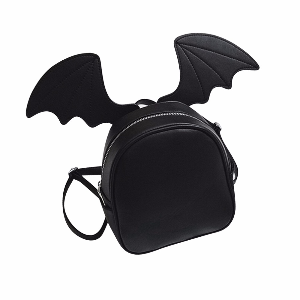 Vbiger Backpack Women Replace Bat Wing Cat Ears Cute Backpack for Girl School Bags Leather Mini Backpacks Shoulder Bag цена