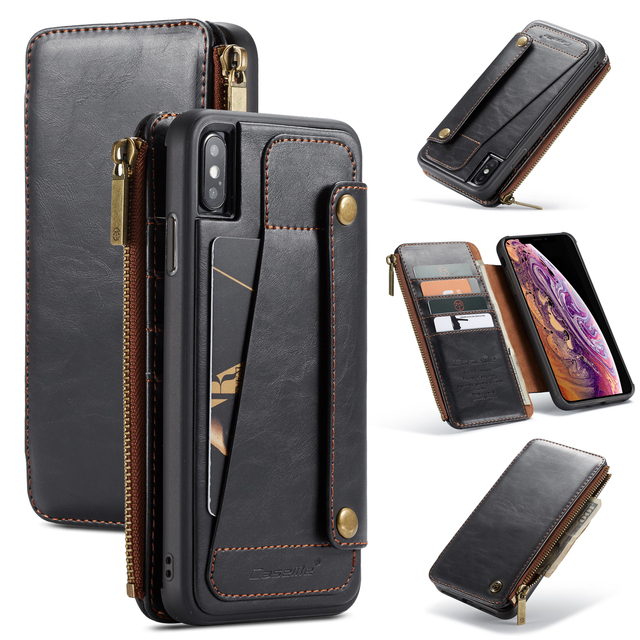brand new 65c06 6eb47 Luxury Retro Wallet Case For Samsung Galaxy P9 Plus Genuine Leather Flip  Note 9 Phone Cover