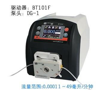 BT101F DG6-1 Industrial Medical Lab Food Dispensing Dosing Filling Tubing Liquid Peristaltic pump 0.00016-26ml/min