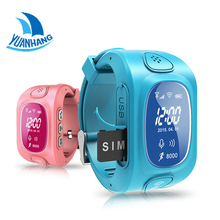 Y3 OLED Screen Smart GPS LBS Wifi Tracker Location Finder SOS Call Anti Lost Remote Monitor Watch Wristwatch  for Kids Children