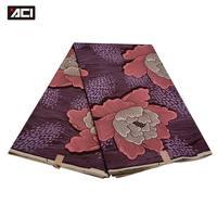 Purple Color African Wax Prints Fabric 6 Yards Veritable Wax Holland Pattern African Ankara Fabrics Real Dutch Wax Batik Fabric