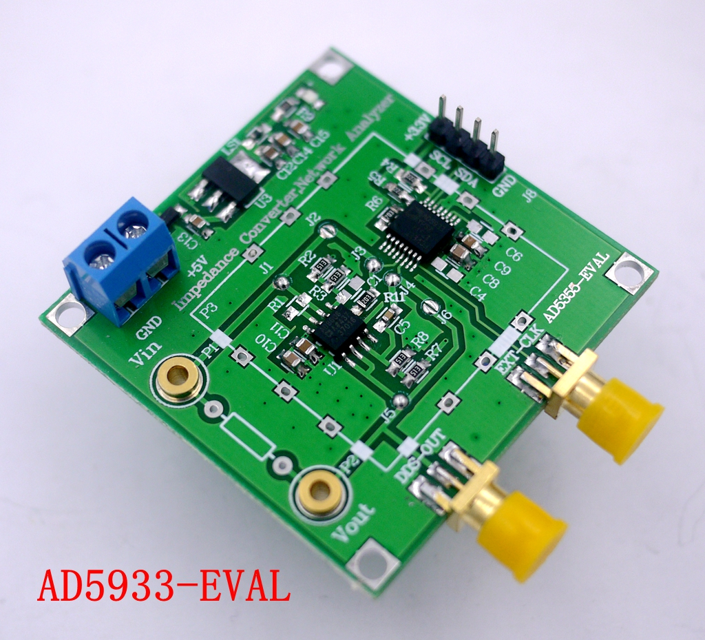 AD5933 Impedance Converter Network Analyzer Module 1M Sampling Rate 12bit Resolution Measurement Resistor