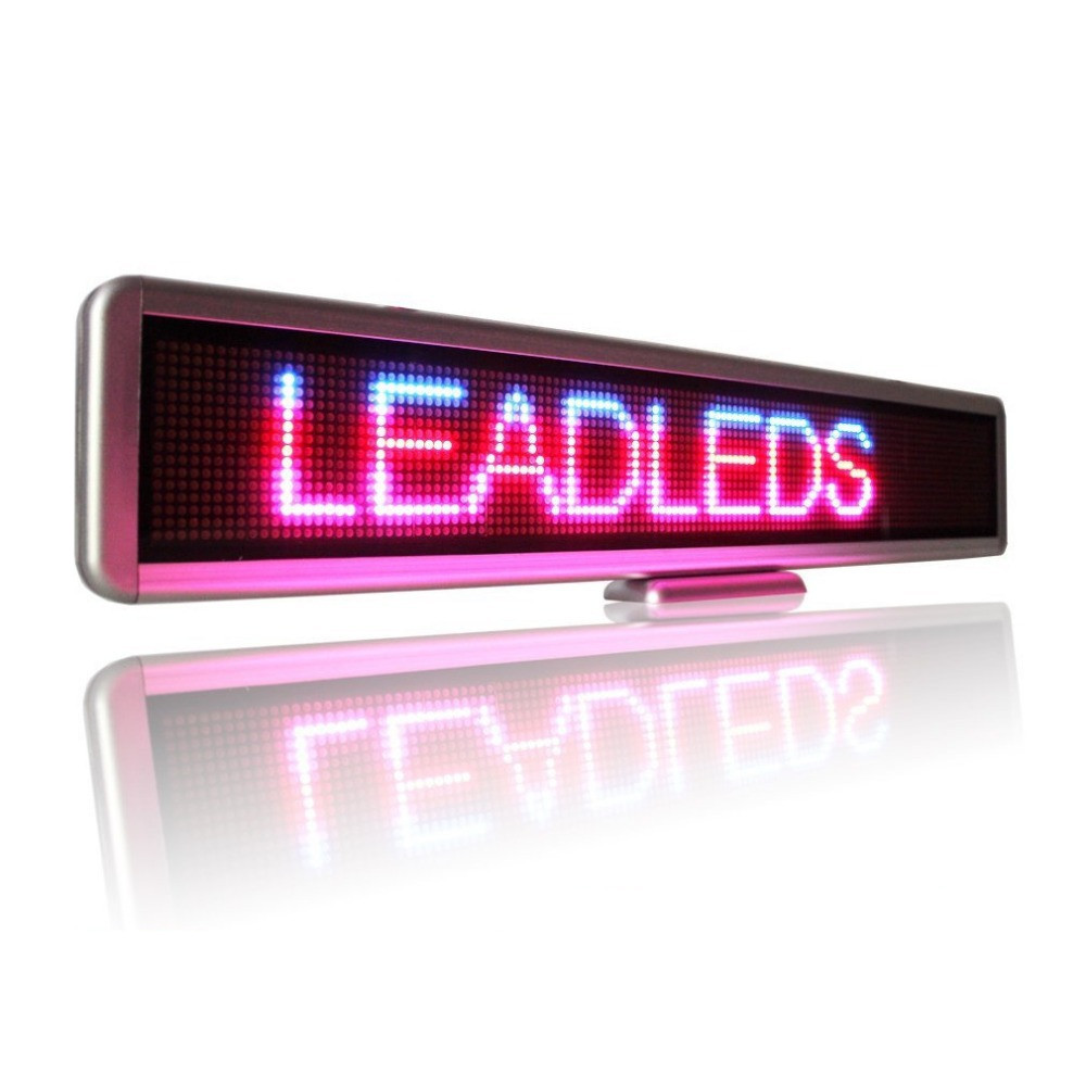 battery powered led sign