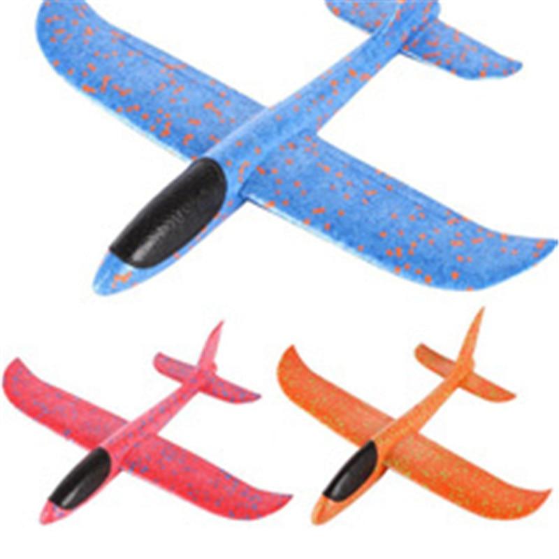 2017 12pcs Diy Hand Throw Flying Glider Planes Foam: DIY Kids Toys Hand Throw Flying Glider Planes Foam Plane