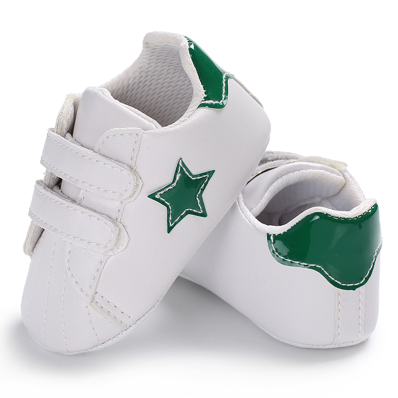 Pu Leather Star Newborn Baby Sports Sneakers Infants Children Girls Booties Firstwalker Todders Bebe Kids Boots Handsome