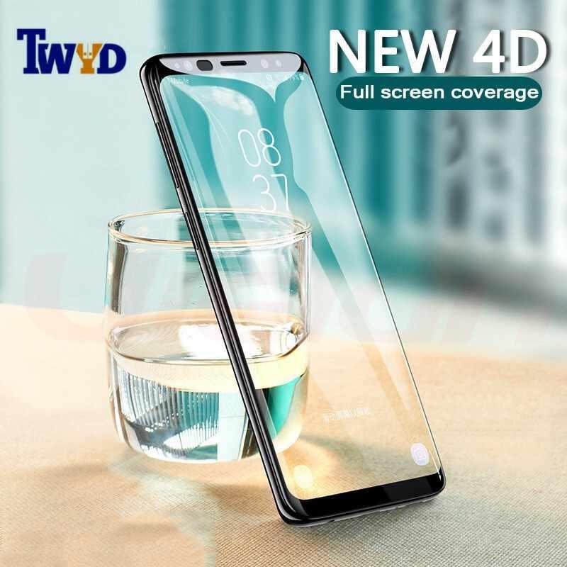 10 قطعة/الوحدة 3D التغطية الكاملة الزجاج المقسى واقي للشاشة لسامسونج غالاكسي ملاحظة 9 8 S9 S8 زائد S7 S6 حافة a7 A8 A6 2018