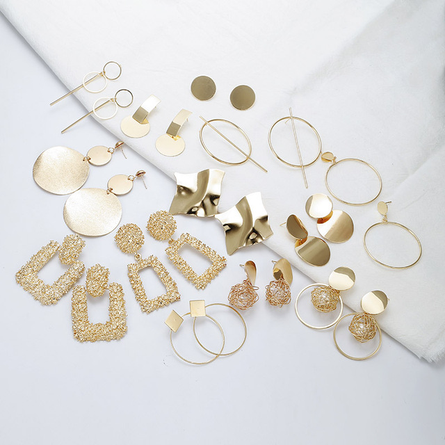 Fashion Geometric earrings  1