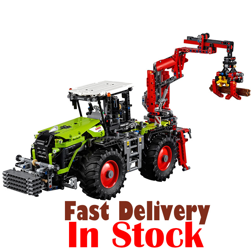 LEPIN 20009 Tractor Machines Technic Model Building Blocks Bricks Educational Toys For Kids 1977PCS Compatible legoINGly 42054 lepin 20009 1977pcs technic series the tractor model building blocks bricks compatible with 42054 boy s favourite