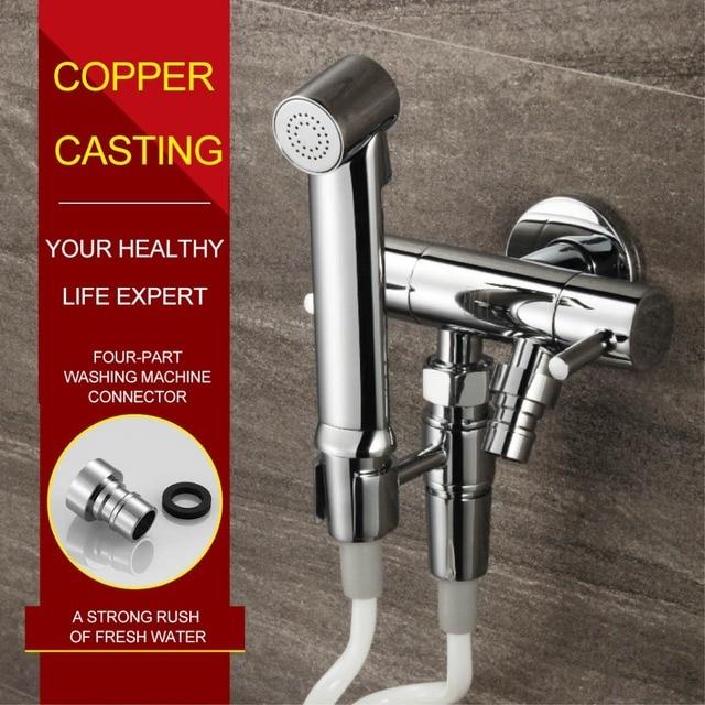 HIDEEP Bidets Shower Spray Brass Toilet Bidets for Toilets Device ...
