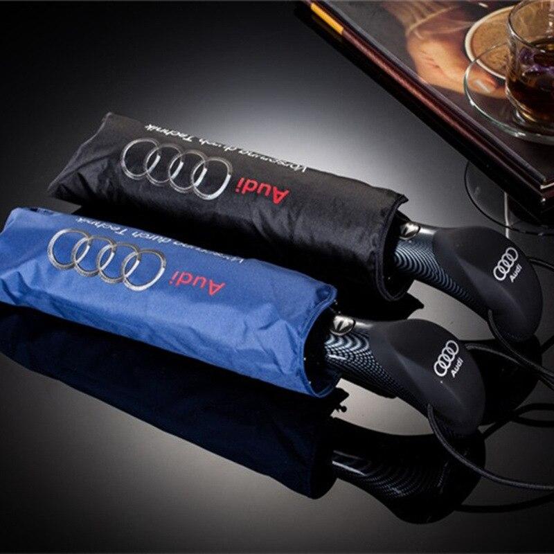 Mode Große Regenschirme Business für Mann Audi Sonnenschirm Automatikschirm Männlichen Paraguas Taschenschirm Regen Sonnenschirm Frauen