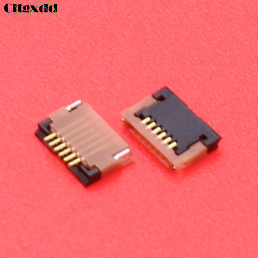 Cltgxdd 6pin 6 Pin FPC Connector Socket For Xiaomi Redmi 1s 2 TP Touch Digitizer Screen Connector Port On Mainboard Replacement
