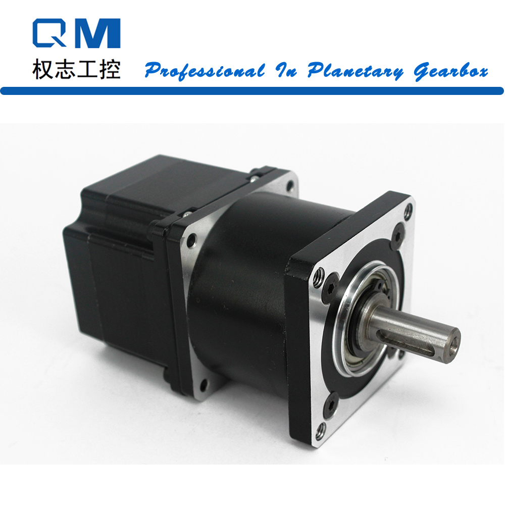Gear stepper motor nema 23 L=42mm planetary reduction gearbox ratio 4:1  cnc robot pump nema23 geared stepping motor ratio 50 1 planetary gear stepper motor l76mm 3a 1 8nm 4leads for cnc router