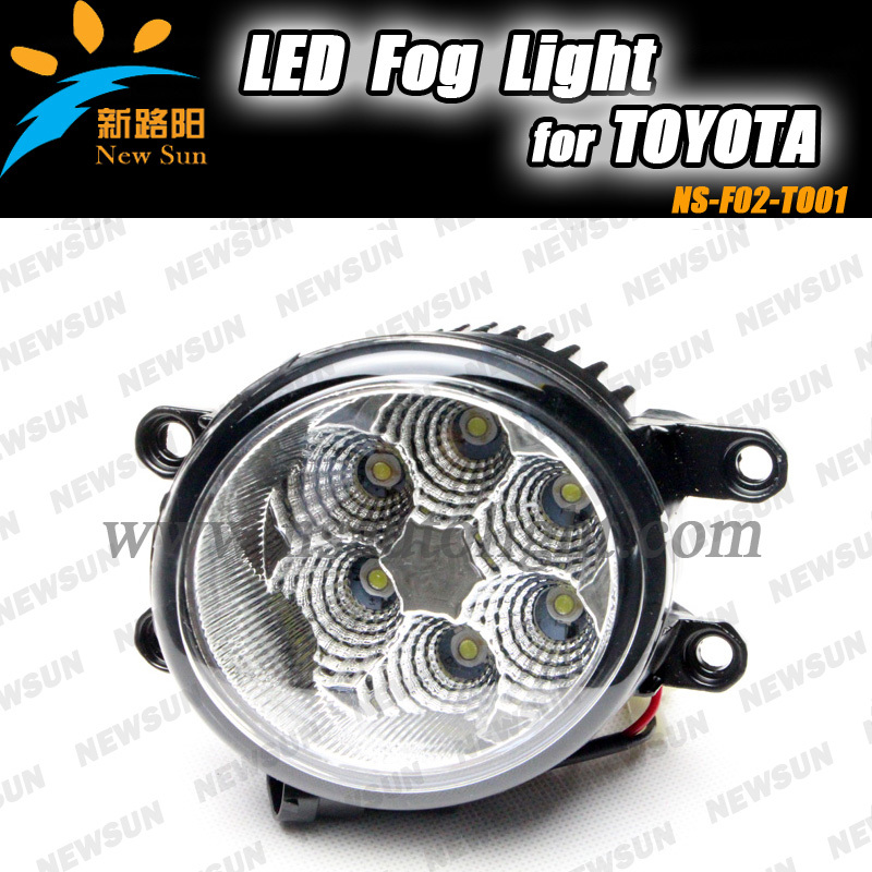 ФОТО 2013 new OEM Style LED Fog Light Assembly Xenon White 16W for Toyota Camry Corolla Prius RAV4 Reiz Yaris Avalon Scion Highlander