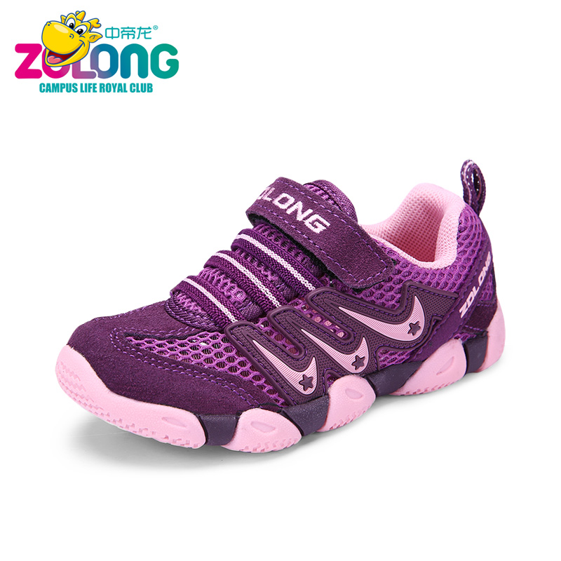 Girls Sandals Summer Kids Shoes Children Designer Beach Fashion Barefoot School Holiday Sport Breathable Dance New 2017 Purple