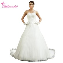 Alexzendra White Wedding Dress Sweetheart Bride Dresses