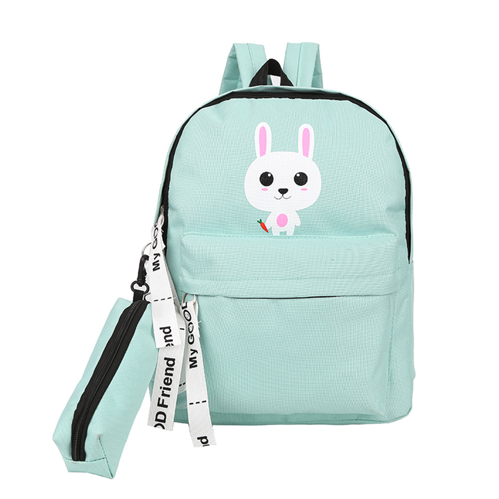 faf5ae16860 Women Backpack Adolescent Girl Shoulder Cute Cartoon Cat Backpack Bag  Cartoon Printed Students Female Dropshipping#40