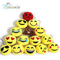 2pcs/lot 5cm Emoji Small Plush Pendant Smiley Emoticon Soft Plush Toys Key&Bag Chain Phone Strap