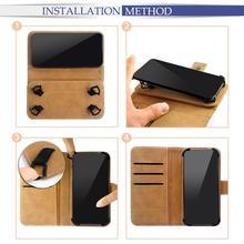 Universal Adjustble Print Leather Phone Case