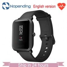 İngilizce Versiyonu Orijinal Huami Amazfit Bip Lite Spor Akıllı İzle GPS Smartwatch Xiaomi IOS MI5 Gloness Kalp Hızı Monitörü