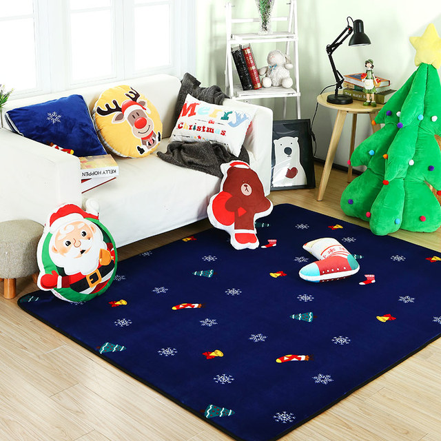 De Noel Decoration Zone Tapis Tapis Colore Moderne Tapis Tapis De