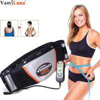 Waist Vibrating Massager, Electric Body Slimming Massager Belt Muscle Burning Fat Weight Losing Trimmer Health Care Tools