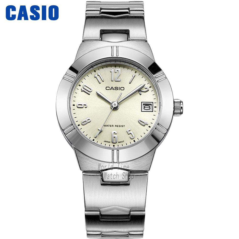 Casio watch Simple fashion waterproof strip ladies watch LTP-1241D-1A LTP-1241D-2A LTP-1241D-2A2 LTP-1241D3A LTP-1241D-4A часы casio ltp e118g 5a