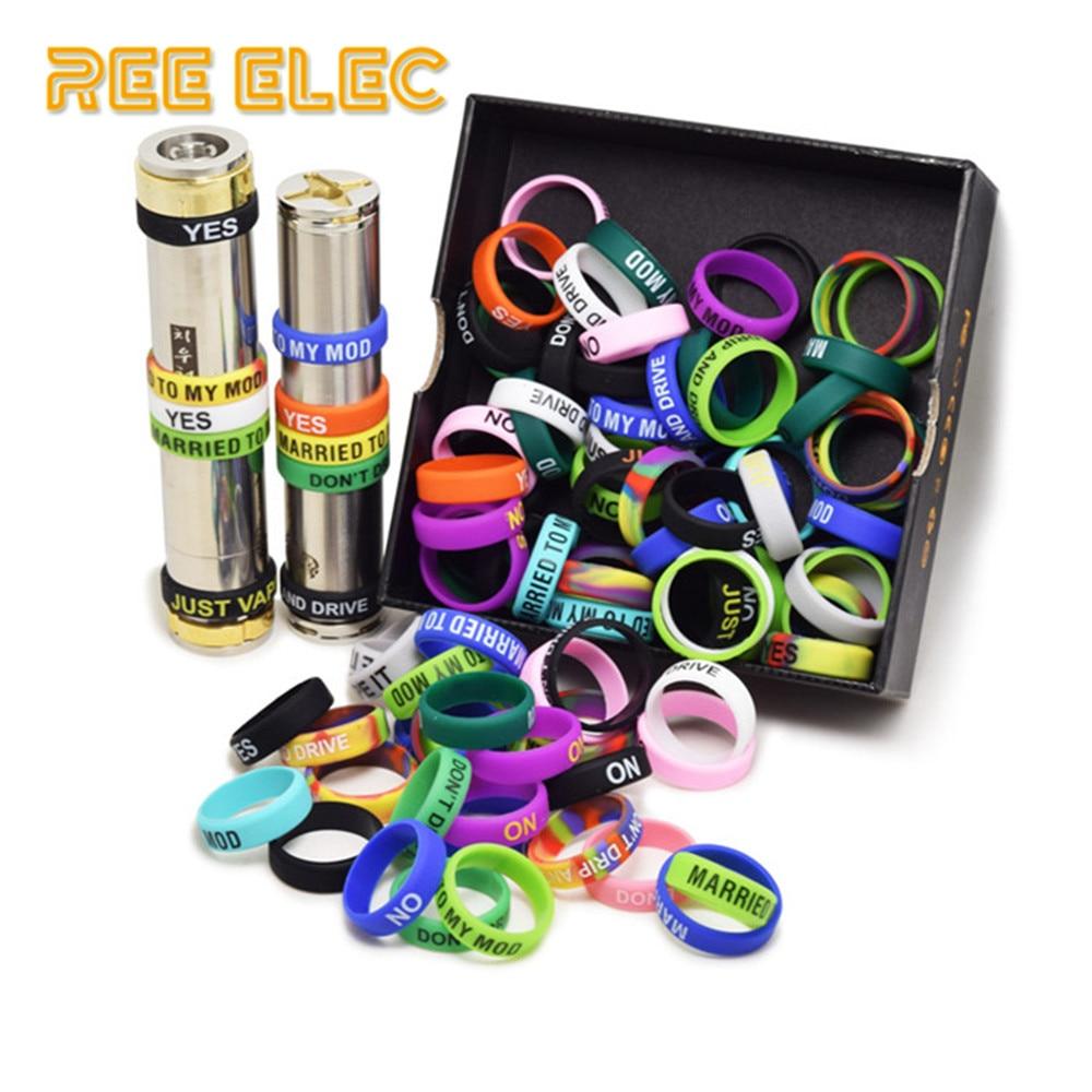 REE ELEC 22mm 7mm Silicon Rubber Band Ring Anti Slip Decoration font b Vape b font