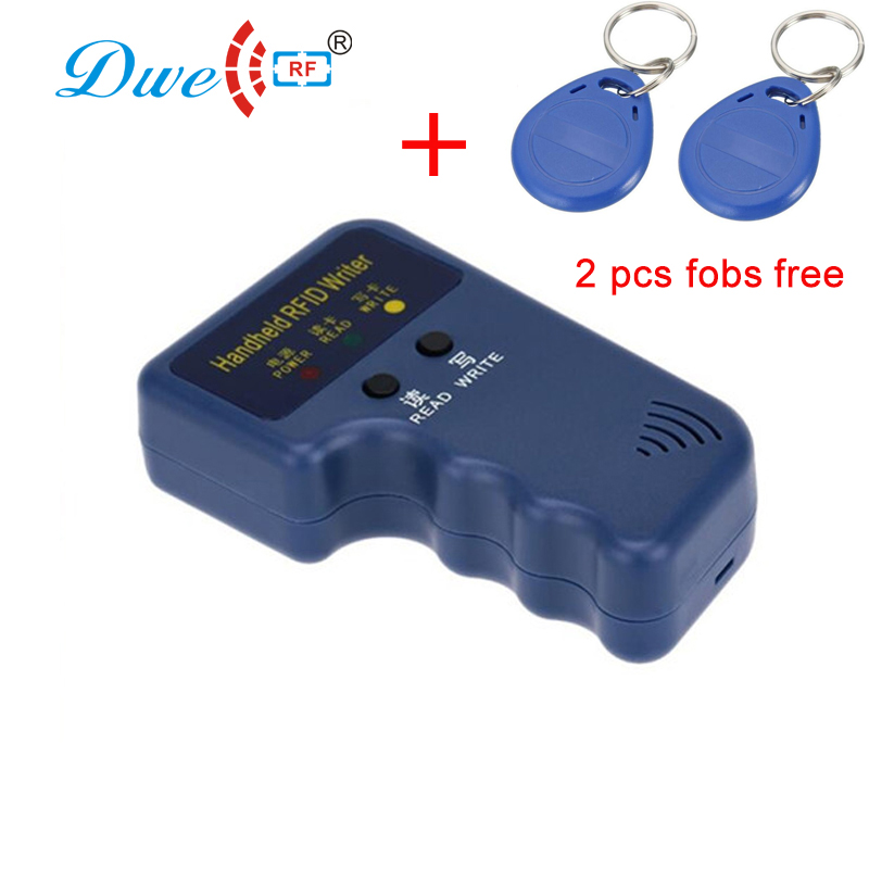 DWE CC RF Access Control Card Reader Key Duplicators RFID Cloning Devices Handheld 125khz Rfid Copier Key Duplicator