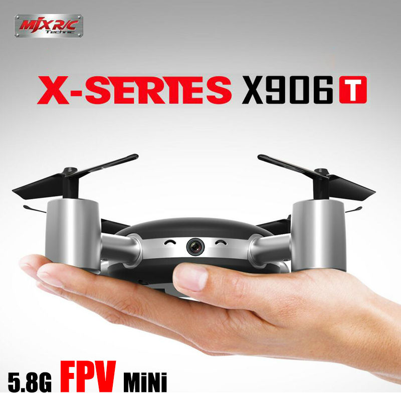 MJX NEWEST X906T 5.8G FPV Realtime Transmission Quadcopter Drone With Built-in HD Camera радиоуправляемый инверторный квадрокоптер mjx x904 rtf 2 4g x904 mjx