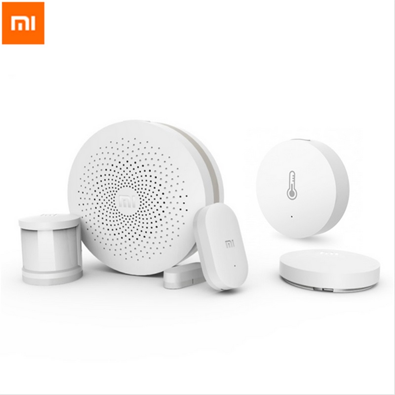 bilder für Original Xiaomi Smart Home Kit Gateway Tür-fenster-sensor Körper Sensor Wireless-schalter Multifunktionale Intelligente Geräte Sets
