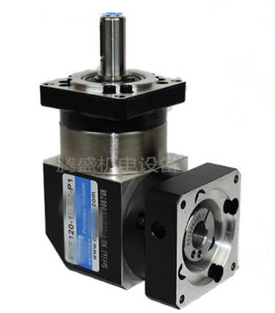 PVF120-L2 130mm 90 degree right angle planetary gearbox reducer Ratio 12:1 to 100:1 for 130 AC servo motor
