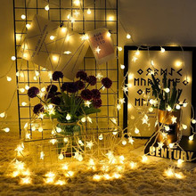 110V 220V 10m 20m 30m 50m Matte Ball LED String Light Christmas Garland for Holiday Party Wedding Home Outdoor Waterproof Decor 10m 20m 30m 100 200 300 led cherry balls fairy string decorative lights 110v 220v plug wedding christmas garland patio decor