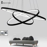 Gold Black White Lustre Modern Led Pendant Lights For Living Room Dining Room Hanging Lamp LED Ceiling Pendant Lamp Fixtures