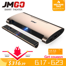 JMGO Smart Projector M6. Android 7.0, Support 4k, 1080P Video. Set in WIFI, Bluetooth, Laser Pen, MINI Projector(China)